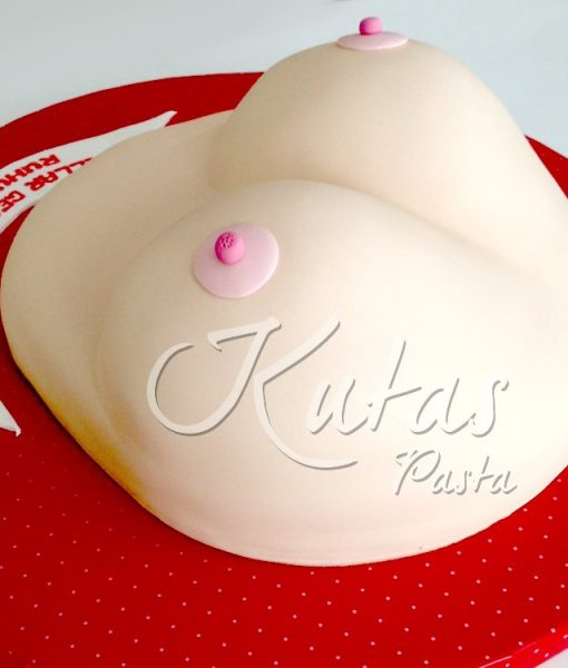 Seksi Göğüs Pasta