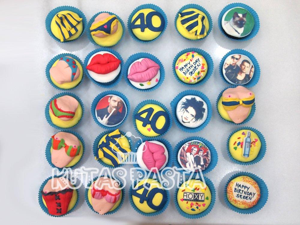 Seksi Fenerbahçe Cupcake