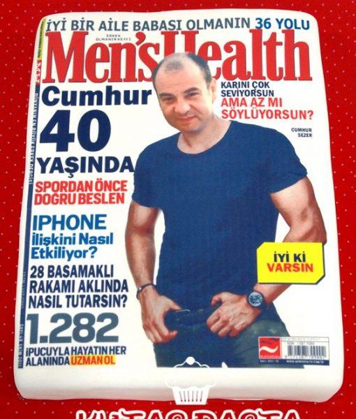 Mens Health Dergi Pasta