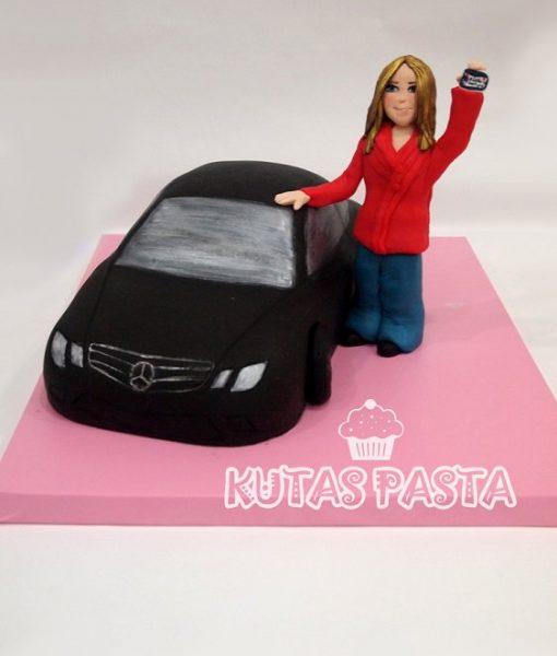 Arabalı Pasta Mercedes
