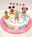 Mickey Minnie Mouse Pasta 2 Yaş