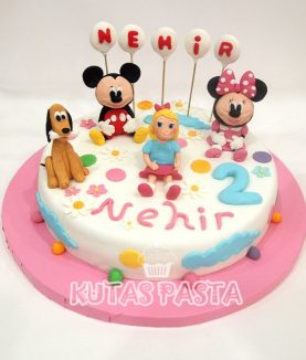 Mickey Minnie Mouse Pasta 2 Yaş