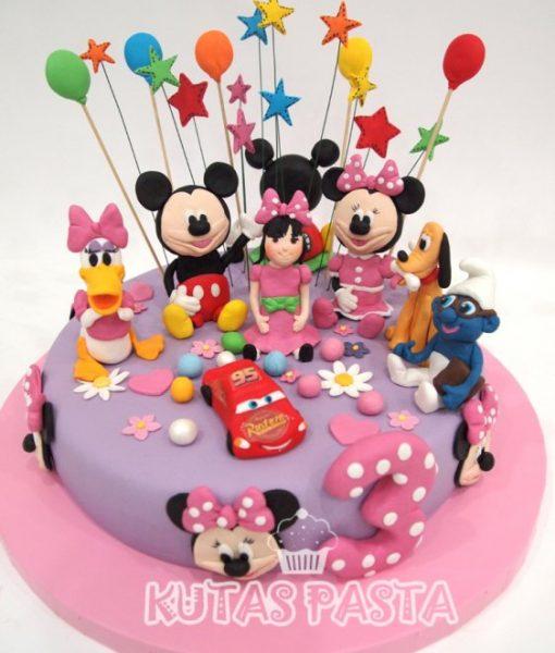 Disney Kulüp Evi Daisy Mini Miki Pasta