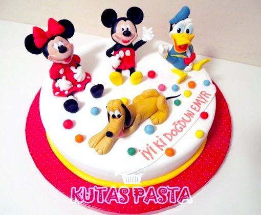 Mickey Mouse Pasta Minnie Pluto Donald duck