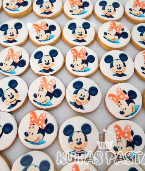 Mickey Minnie Mouse Kurabiye