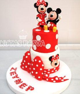 Mickey Minnie Mouse Pasta Katlı