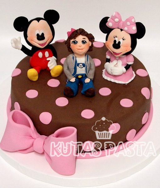 Mickey Minnie Mouse Pastası
