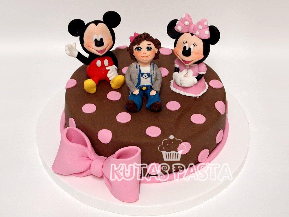 Mickey Minnie Mouse Pastası