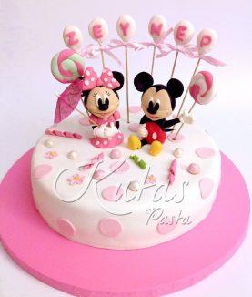 Mini Miki Mouse Pasta