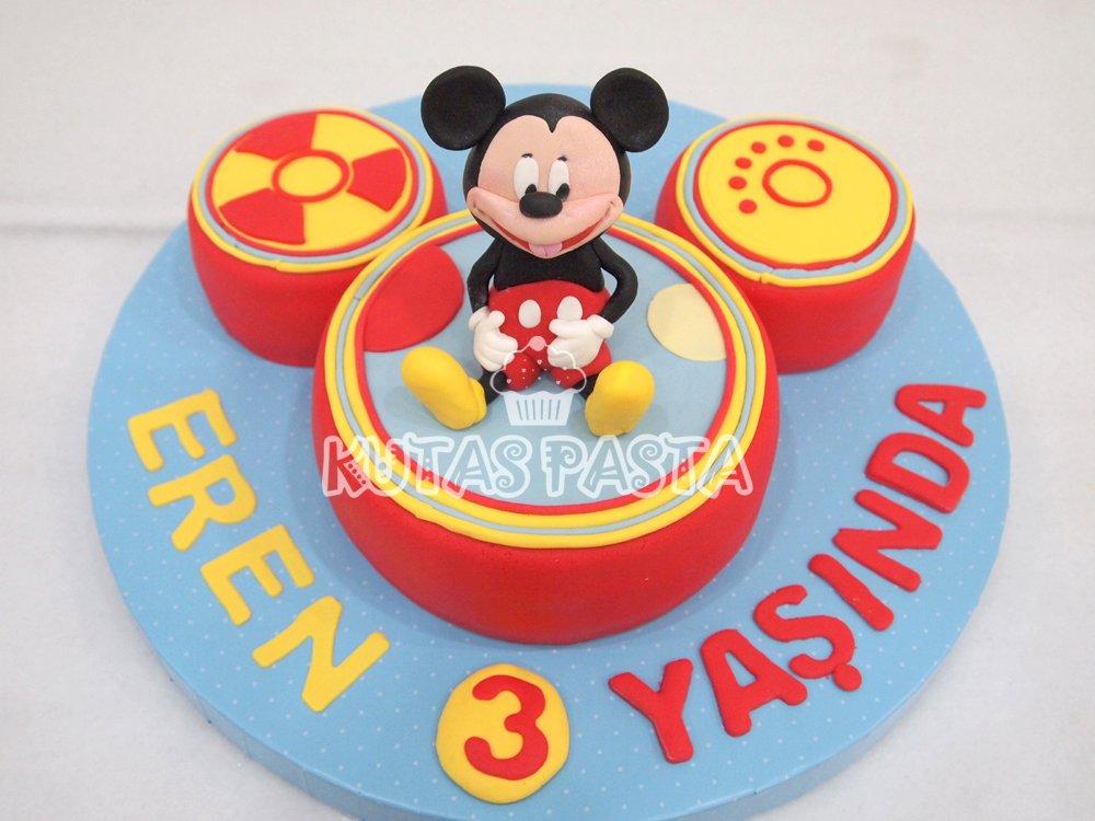 Mickey Mouse Toodles Pasta 3 Yaş