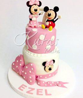 Mini ve Miki Mouse Pasta