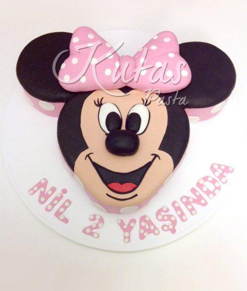 2 Yaş Minnie Mouse Pasta