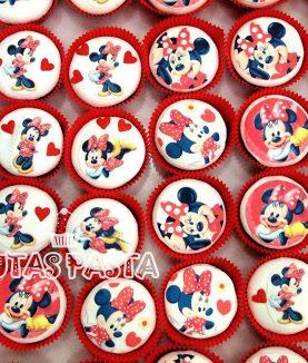 Minnie Mouse Cupcake Kupkek