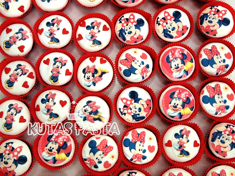 Minnie Mouse Cupcake Kupkek