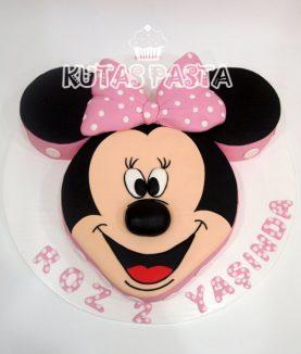 Minnie Mouse Pasta 2 Yaş