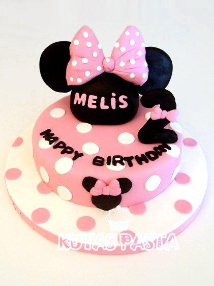 Minnie Mouse Pasta Pembe