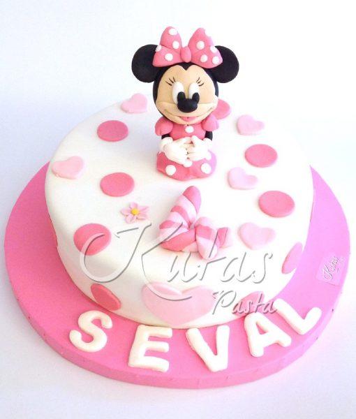 4 Yaş Minnie Mouse Pasta