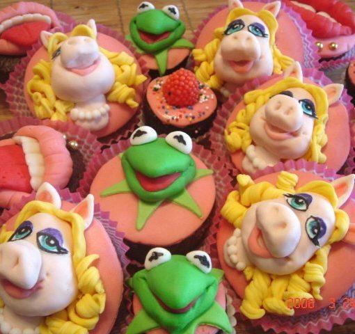 Muppet Show Cupcake