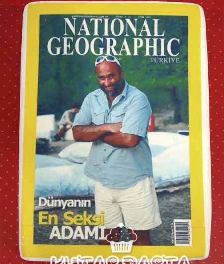 National Geographic Dergi Pasta