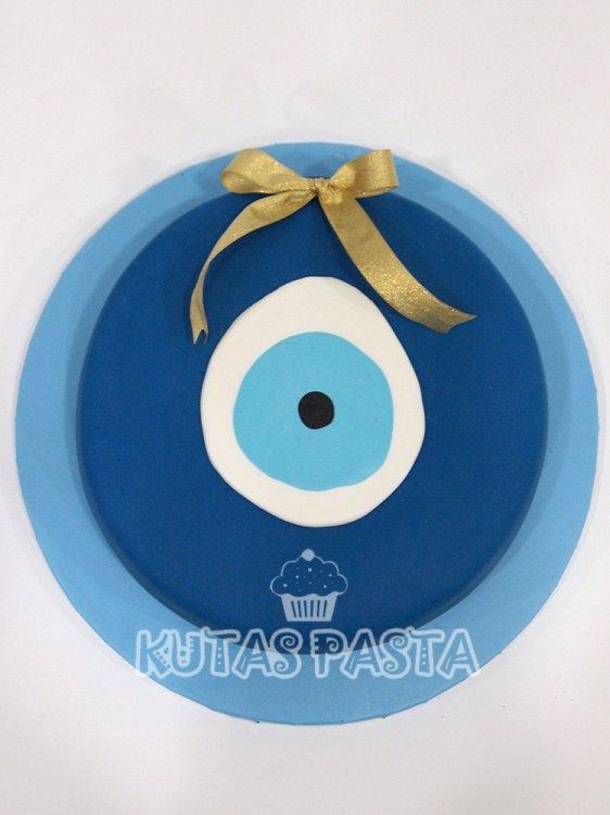 Nazar Boncuğu Pasta
