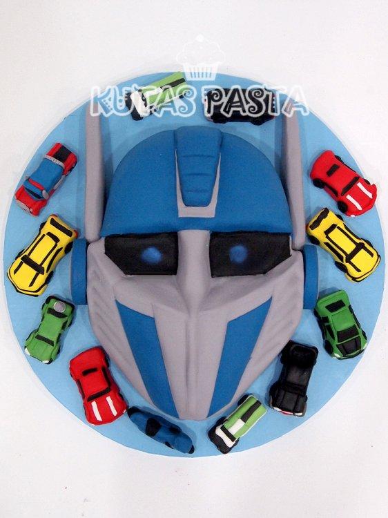 Transformers Pasta Optimus Prime