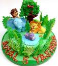 Hayvanlı 5 Yaş Pasta