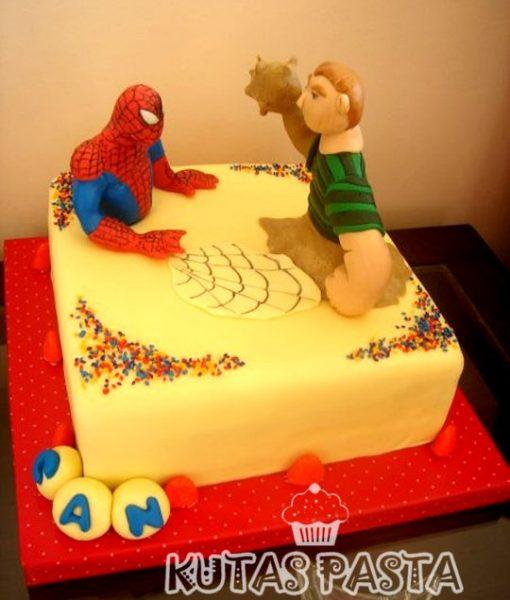 Spider Man Pasta Örümcek adam