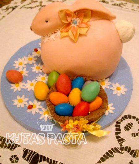 Paskalya Tavşan Yumurta Pasta