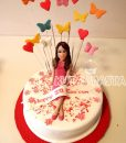 30 Yaş Kadın Pastası