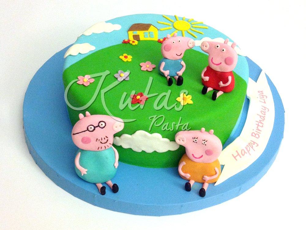 Peppa Pig Pastası