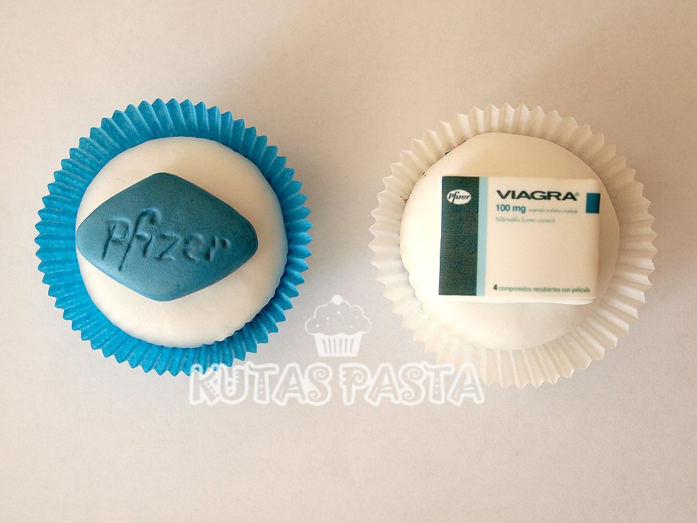 Pfizer Viagra Cupcake