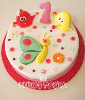 Baby Tv 1 Yaş Pasta