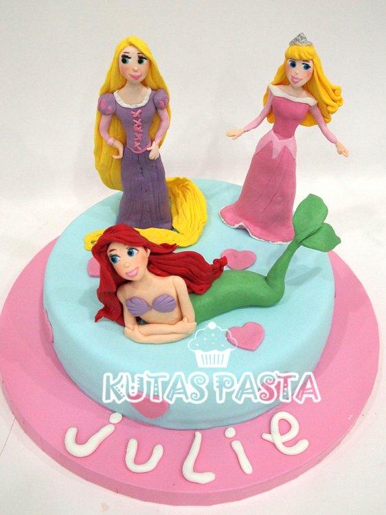 Rapunzel Ariel Sindirella Pasta