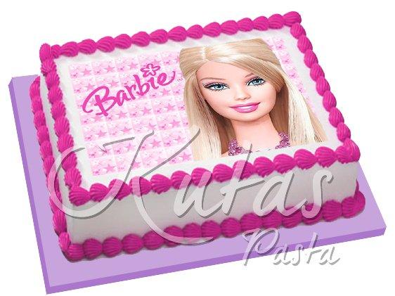 Resimli Pasta Barbie