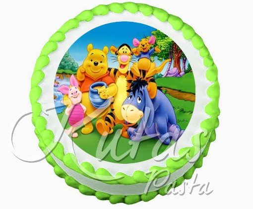 Resimli Pasta Winnie the Pooh