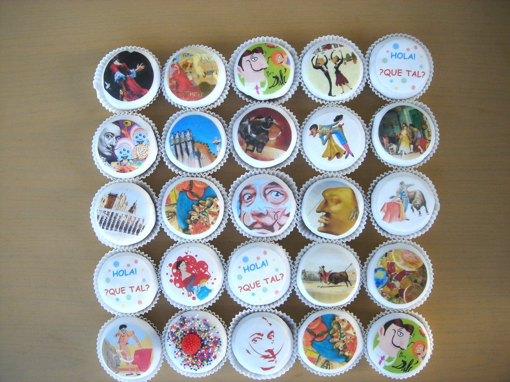 Salvador Dali Cupcake