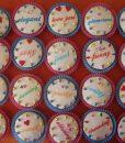 Renkli Happy Birthday Cupcake