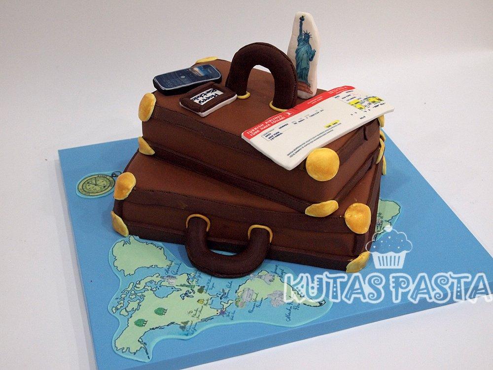 Valiz Çanta pasta