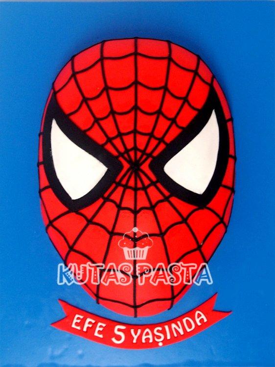 Spiderman Demiradam 5 Yaş Pastası