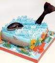 Deniz Temalı Pasta