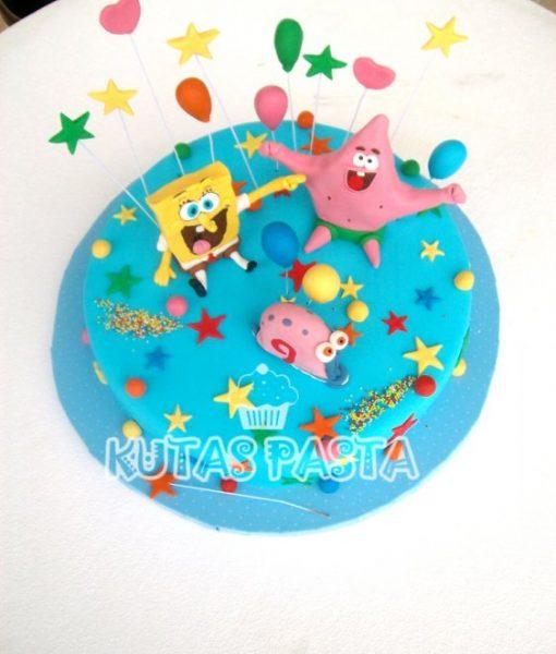 Sünger Bob Pasta Sponge