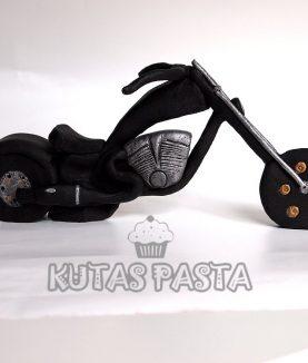TT Custom Motosikletli Pasta