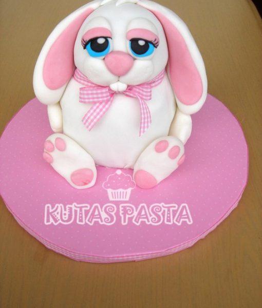 Sevimli Tavşan Pasta