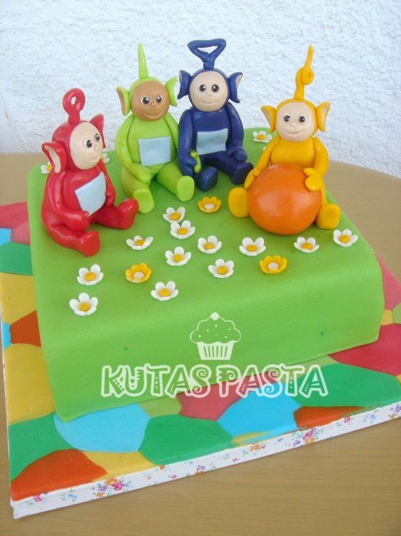 Tele Tubbies Pasta