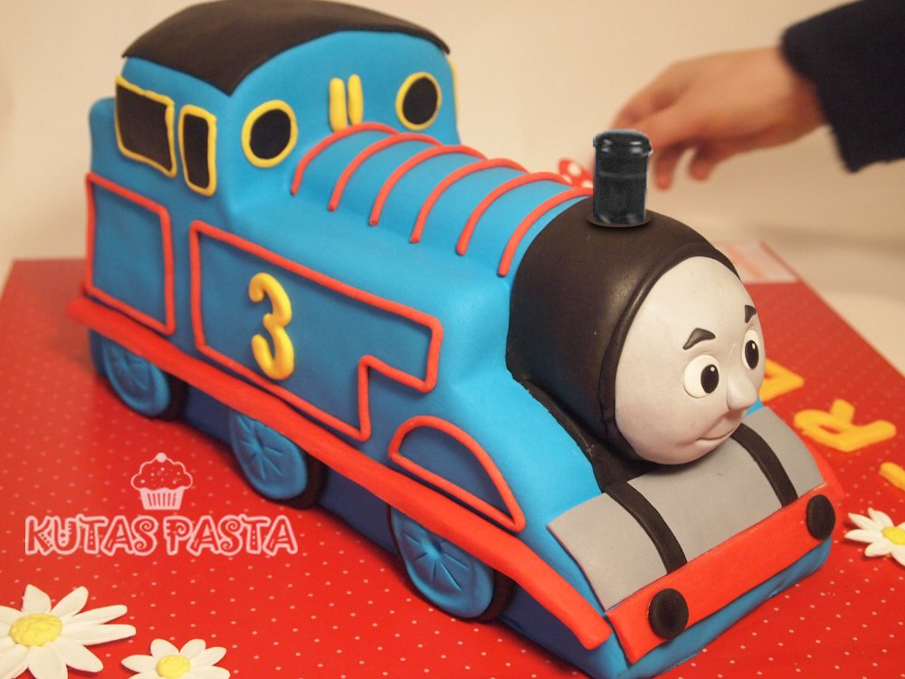 Tren Thomas Pasta the train