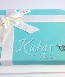Nişan Pastası Tiffany Kutu