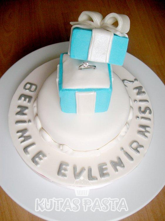 Nişan Pastası Evlilik Teklif