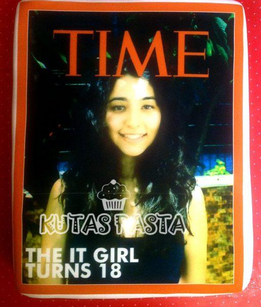 Time Dergisi Butik Pasta