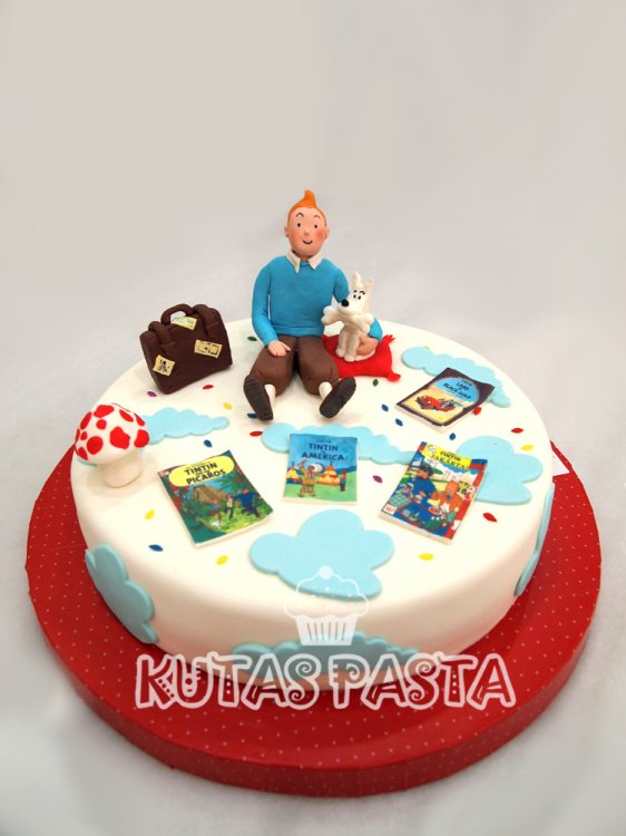 Tenten Milou Pasta Tintin