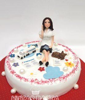 Tırsan İş Kadını Pasta